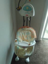 Baby swing semi new barely used  Dover, 19901