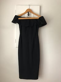 Babaton Ruslan Body Con Dress Black Size 2