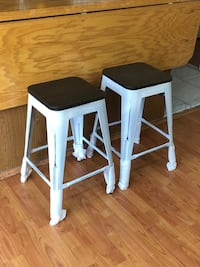 Oregon Industrial Stackable Counter Stool by LumiSource-Set of 2 Brampton, L6V 4K9