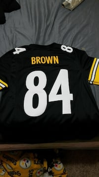 black and yellow Brown #84 jersey Great Falls, 59401