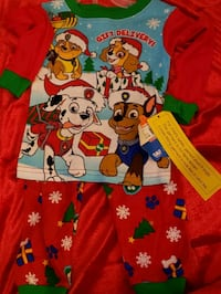 Long sleeves Paw Patrol Christmas PJ Pants set Las Vegas, 89183