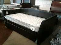 Espresso Day Bed Frame Only W/ Trundle Phoenix, 85018