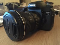 Canon 7d + tokina 11-16 mm f / 2.8 + 2 batteries + 34gb card + pouch case Trondheim, Norway