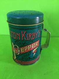 Vintage Elton Kirby's Pepper container San Marcos, 92069