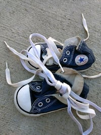 pair of black Converse All Star high-top sneakers Lancaster, 93534