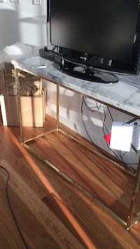 Marble top console table NEWYORK
