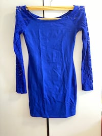 Blue dress  | Pick up only Toronto, M3N 2W5