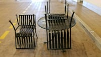 Rourt irone table with 4 chairs  Baltimore, 21207