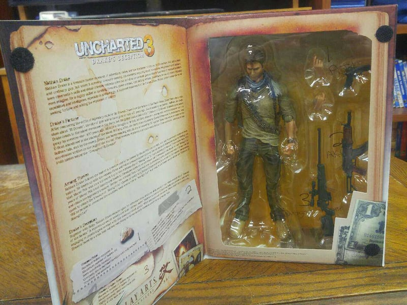 Used Uncharted 3 Nathan Drake Action Figure For Sale In Edmonton