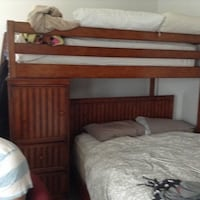 Twin bed with mattress, shelves, drawers Spring Hill, 34609