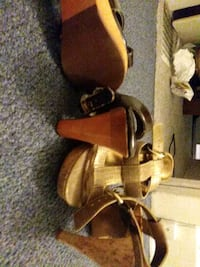 Heels casual 7 , and size 8 to 8 1/2 . More to come