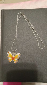 Butterfly pendant on chain Peterborough, K9J 1Y2