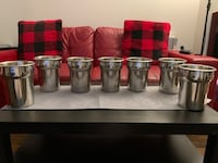 Stainless Steel Commercial Utensil Containers Surrey