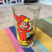 Wendy the Witch Pepsi Collectible Glass. Benicia, 94510