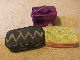 3 Make Up Bags Lot