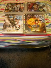 three assorted PS3 game cases Charlotte, 28214