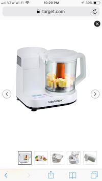 Baby Brezza Glass 4 Cup One-Step Baby Food Maker Washington, 20001