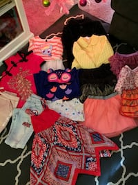 Bundle of clothes for girl size 4/5 16 pieces, Firm Price