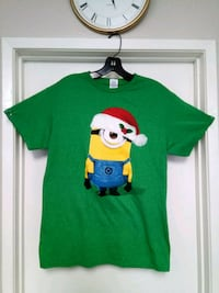 sz M. New Minions Christmas Graphic T-shirt