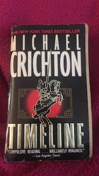 Timeline by Michael Crichton book