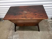 Solid wood trough or tape table Baltimore, 21215