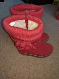 Red toddler boots  Rockville, 20852