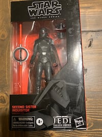 Star Wars Black Series Carbonized Second Sister Inquisitor 6""