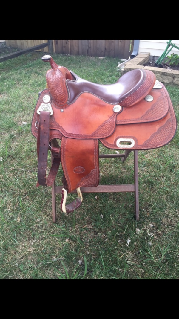 Billy Cook Custom Pro Reiner Saddle