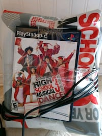 HS musical 3 PS2 game