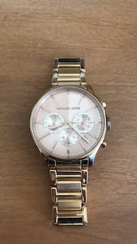 Rose Gold MK chronograph watch with link bracelet Lake Worth, 33467