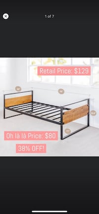Zinus Suzanne Twin Daybed Frame