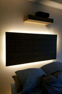 """Floating"" Headboard w/LEDs Falls Church, 22042"