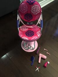 Our Generation Sitting Pretty Salon Chair - Pink Richmond Hill, L4E 0C3