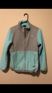 teal and gray zip-up jacket 392 mi