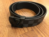 black and gray leather belt Baltimore, 21201