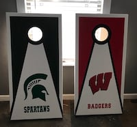 Custom cornhole boards  1930 mi