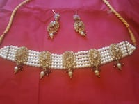 Indian choker necklace set small Laval, H7W 2Z9