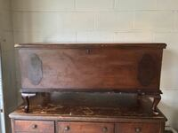 Antique Lane collectable wooden chest with serial number - $99 Mc Lean, 22101