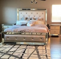 Zgallerie Ava Queen Bed frame!  Chevy Chase, 20815