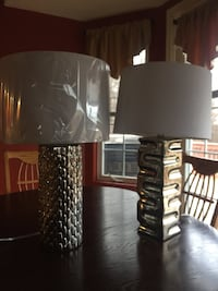 black and white table lamp 1297 km