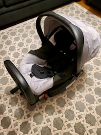Britax car seat with base