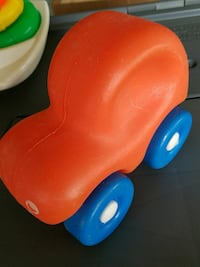 toddler's orange and blue ride-on toy Hanover, 17331