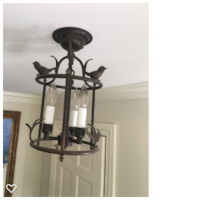 Old World Imports Light fixture Bird Cage  Hinsdale