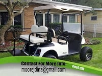 Great condition, E z go golf cart with battery new Body Q7g