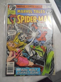 Marvel spider-man comic book Cambridge, N3C 4G7