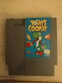 NES game Yoshi's Cookie Kitchener, N2E 2K2