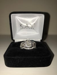 14k White Gold Diamond Wedding Set  Chesapeake, 23320
