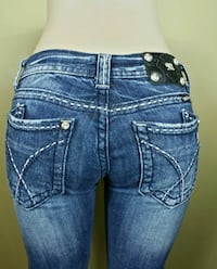 Miss Me Jeans Size 28/32 Distressed Boot Cut