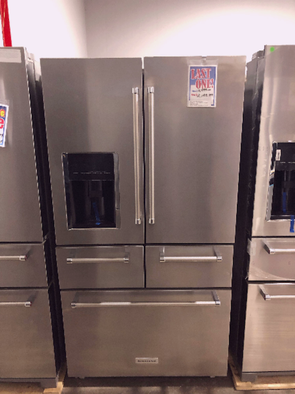 BEAUTIFUL KitchenAid 5-door French Refrigerator