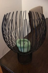 Candle cage holder